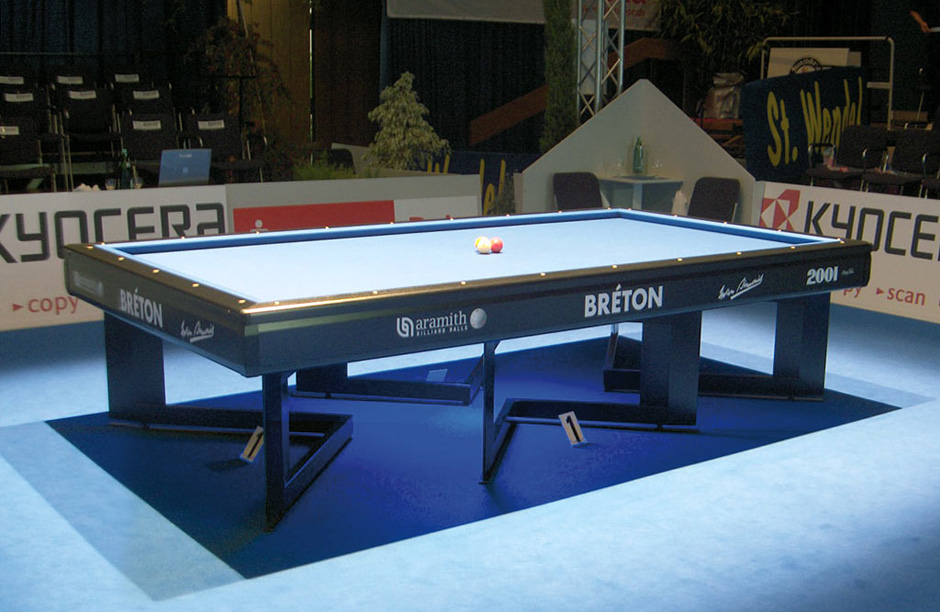 Table de billard 2001 compétition de Billards Bréton
