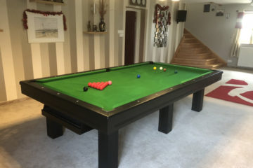 billard snooker equinoxe finition noire