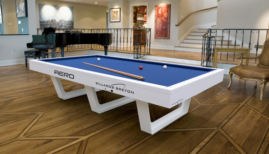 Table de billard Aero compétiton de Billards Bréton