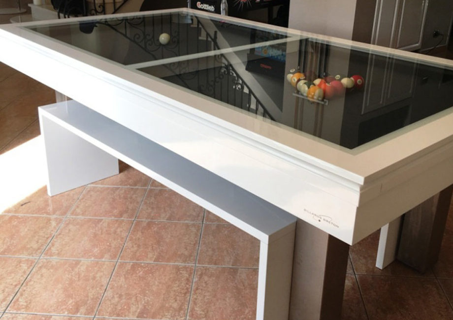 Table de billard Dauphin design avec