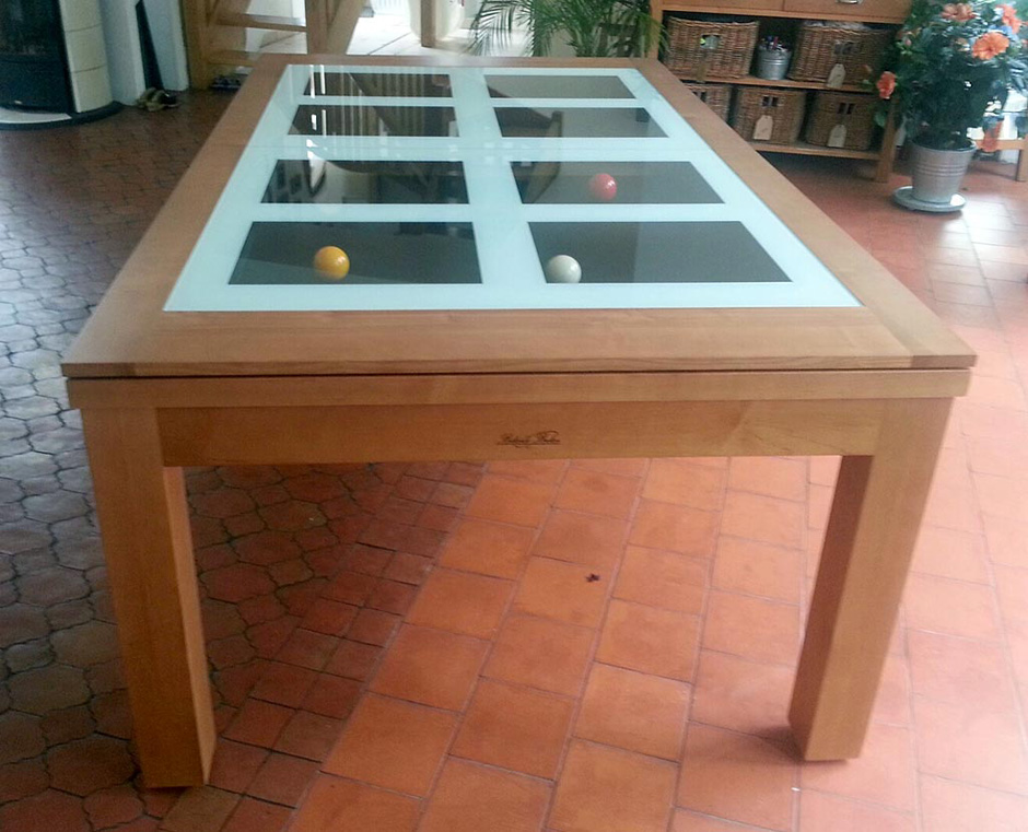 Table de billard convertible Neo de Billards Bréton