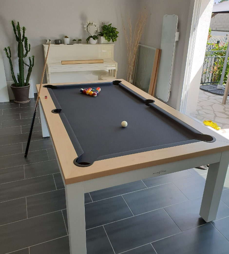 Table de billard Neo Billards Breton blanche